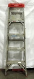 Werner 5 Foot Aluminum Step Ladder