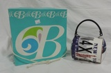 Vintage Belk Hat In Box And Metal Purse