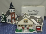 Dept 56 Snow Village Wedding Chapel And Brandon's Bungalow