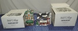 (2) Dept 56 The Original Snow Village Buildings In Boxes
