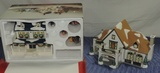 (2) Dept 56 Original Snow Village Buildings In Boxes