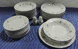 (40)+ Pieces Mikasa Renaissance Valerie China Set