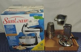 Sunbeam Mixer New In Box And Towncraft Vegetable Chopper