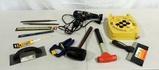 Tray Lot Ryobi Electric Drill And Tools