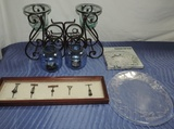 Lot Of Candles And Kitchenware