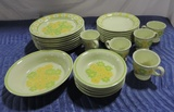 (25)+/- Pieces Of Franciscan Earthenware China