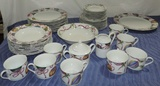 (30)+/- Pieces Of American Atelier Mixed Christmas China