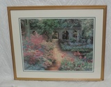 1991 Barbra Hails Limited Edition Color Garden Print