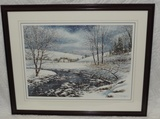 William Mangum Limited Edition Color Winter Landscape