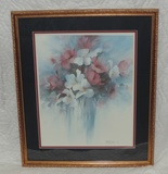 Carolyn Shores Wright 1986 Color Floral Print