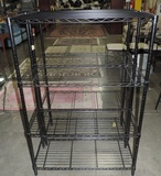 (2) Industrial Metal Storage Shelves