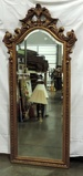 Gold Finished Ornate Wall Mirror