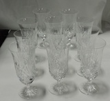 Set Of Signed Miller Rogaska Stemware