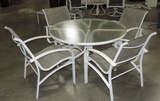 Aluminum 5 Piece Patio Set