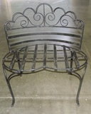 Fancy Iron Outdoor Bench