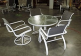5 Piece Aluminum Patio Set
