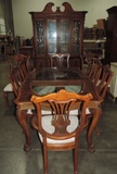 Fancy 10 Piece Dinning Room Suite With China Hutch