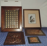 Land Of The Usa Penny Collection In Frame Plus More