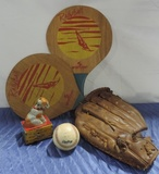 Sport And Wind Up Toy Lot