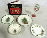 Spode Christmas Plates And Bowl Plus More