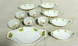 11 Piece Custard Cup And Souffle Dishes