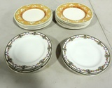 8 Limoge France & 13 Pier One Salad Plates