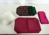 Box Lot Napkins, Table Place Mats
