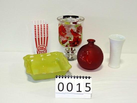 Miscellaneous Glass & China Lot