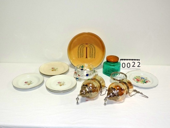 Misc. Glass, China And Pottery Lot