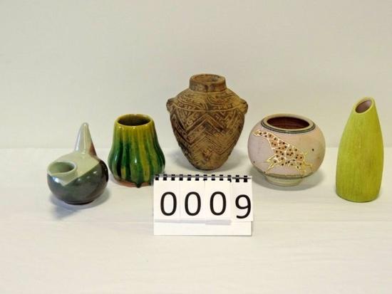 5 Piece Pottery Lot