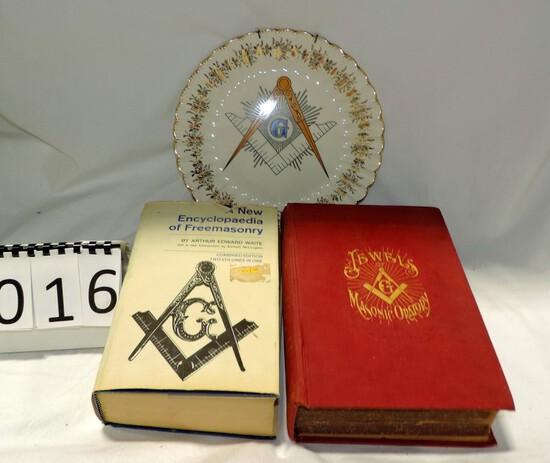 3 Piece Masonic Lot