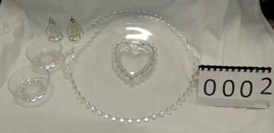 Candlewick Glassware Lot