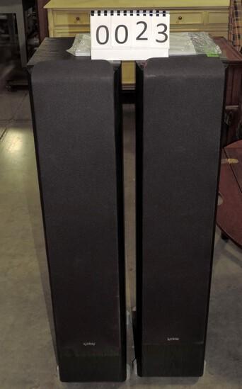 Pair Of Infinity Tower Speakers