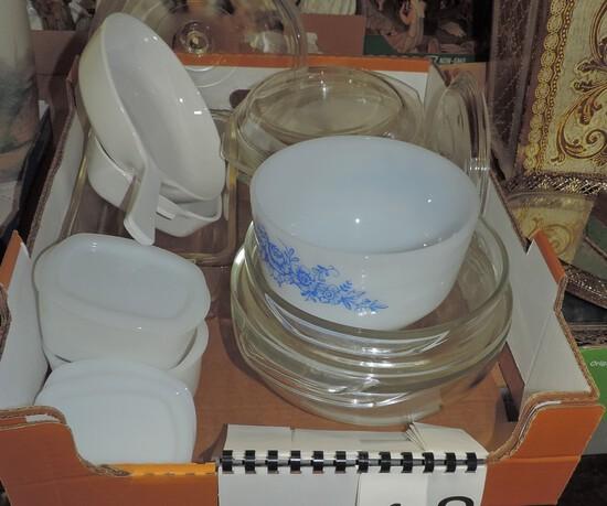 11 Pc Kitchen Glass Bakeware Tray Lot