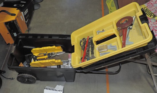 Stanley Pro Mobile Tool Chest With Tools