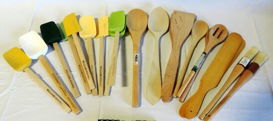 New Wood Kitchen Utensils