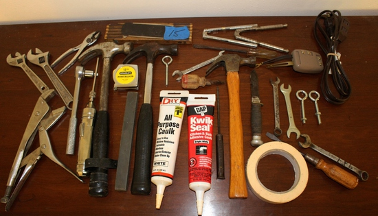 Lot of General Household Utility Tools