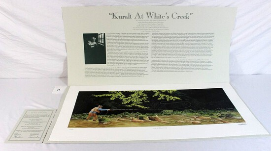 "Bob Timberlake 2001 ""Kuralt at White's Creek"""