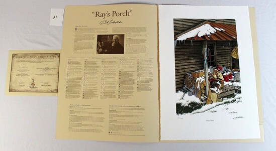 "Bob Timberlake 2006 ""Ray's Porch"""