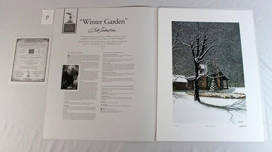 "Bob Timberlake 2007 ""Winter Garden"""