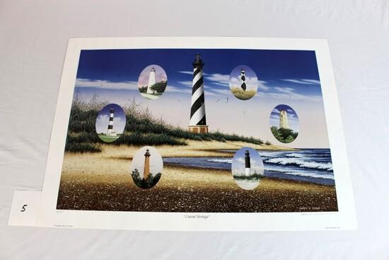 """Larry Burge """"Coastal Heritage"""" 2002"""