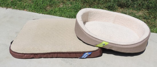 Pair of Gently Used Dog Beds