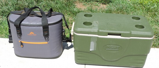 Pair of Camping/Outdoor Coolers
