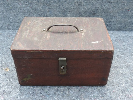 Antique Handmade Tool Box
