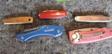 Lot of (5) Pocket Knives