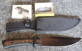 Frost Cutlery Knife with Sheath and Small Knife