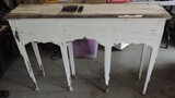 Chippy Painted Tall Hall Table