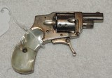Baby Hammerless .22 Folding Trigger Revolver