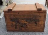 The Classics Wooden Ammo Lidded Box