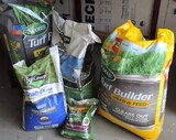 Large Lot of Grass Seed and Yard Products